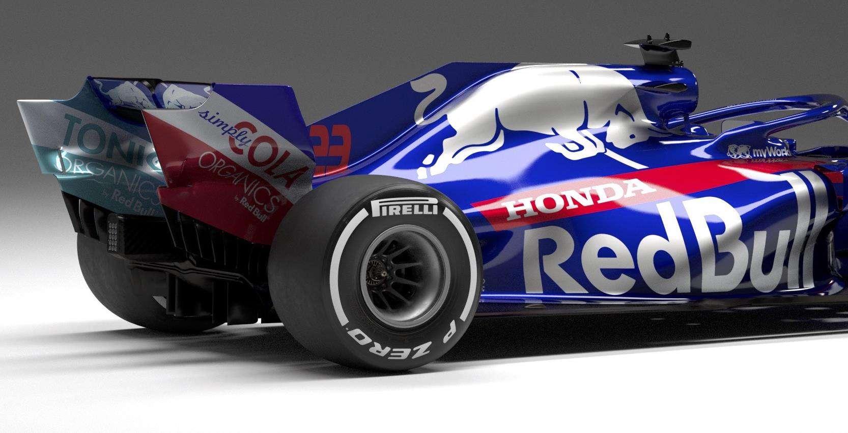 2019-Toro-Rosso-STR14-Honda-MAXF1net-F1tech-engine-cover-rear-wing