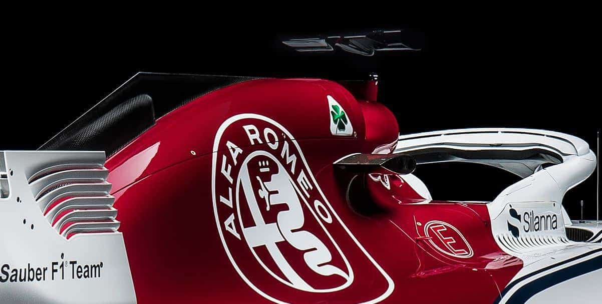 AlfaRomeo_Sauber_F1_2018_car_rear shark fin halo f1 2018