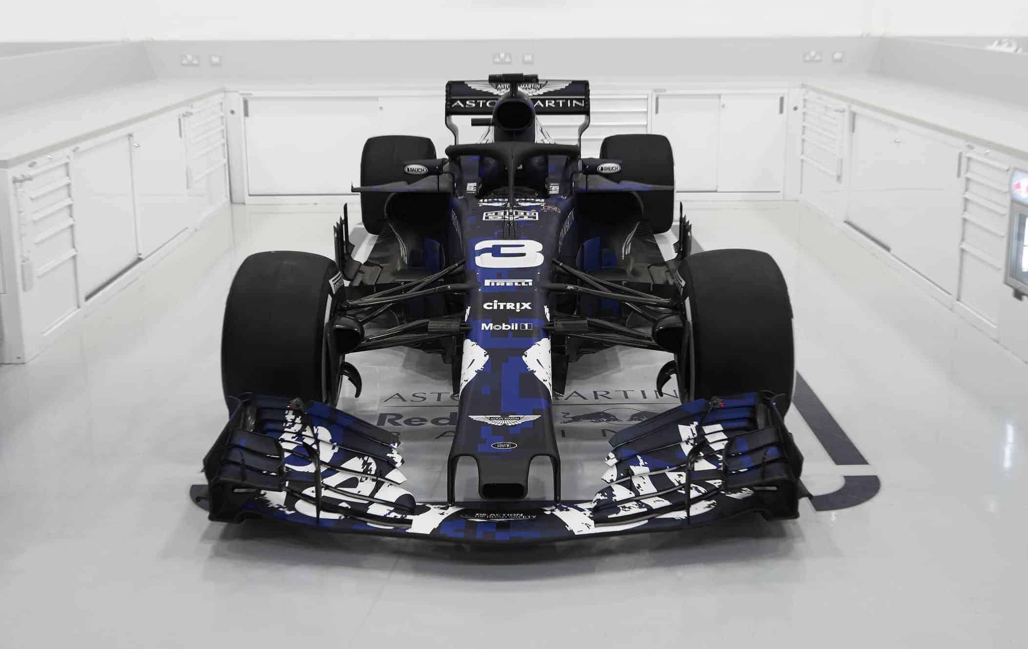 Aston Martin Red Bull Reveals New Rb14 2018 F1 Car