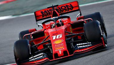 Charles Leclerc Ferrari SF90 Barcelona test 1 day 2 Photo Sky F1 Ferrari