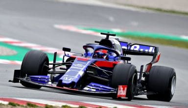 Daniil Kvyat Toro Rosso STR15 Honda Barcelona Test 1 Day 3 Photo Red Bull