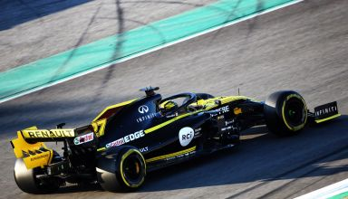 Nico Hulkenberg Renault R.S.19 Barcelona test 1 Photo Renault
