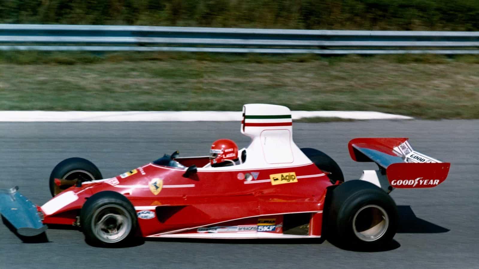 Niki Lauda Ferrari 312T Belgian GP F1 1975