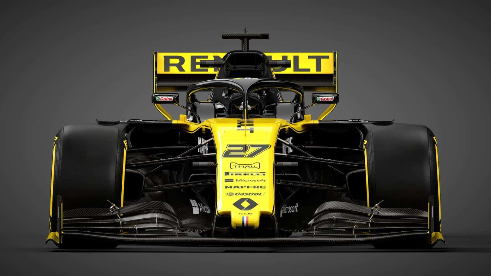 Renault RS19 Twitter Renault Sport F1 front MAXF1net
