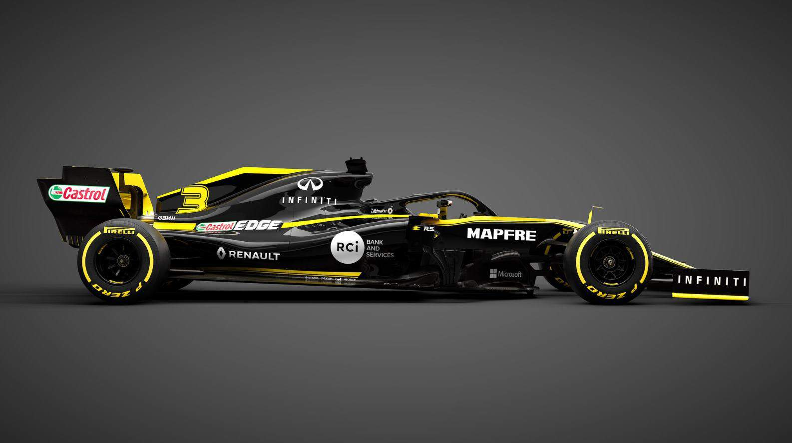 Renault RS19 Twitter Renault Sport F1 side MAXF1net