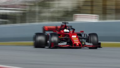 Sebastian Vettel Ferrari SF90 Barcelona test 1 day 1 - Photo Ferrari