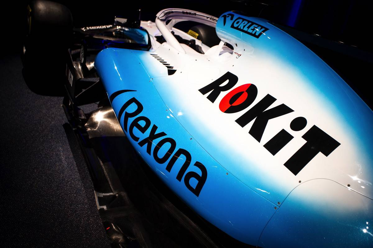 Williams F1 2019 new sponsor livery Rokit