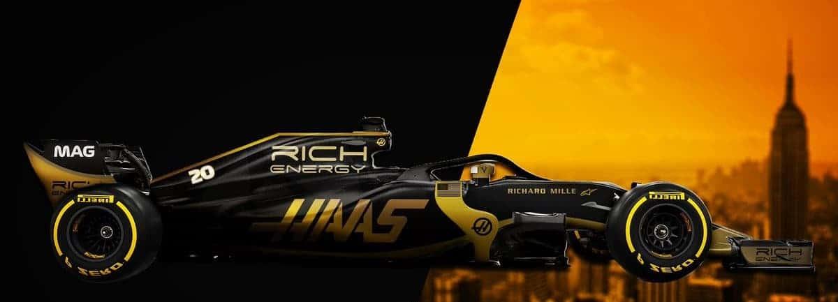 rich_energy_Haas F1 Team 2019 side