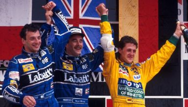 1992 Mexican GP Schumacher maiden podium Photo F1