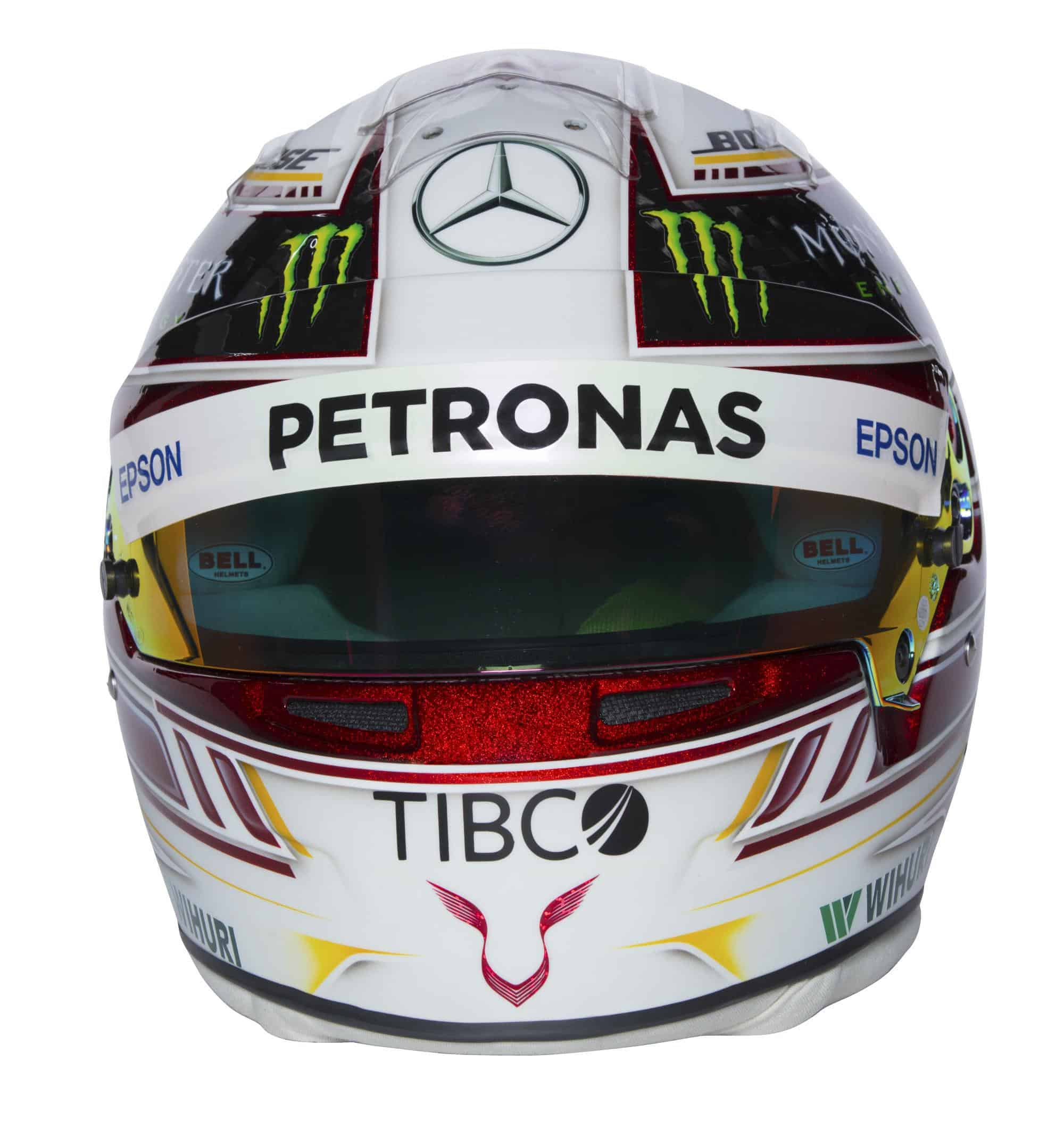2018 Driver Helmets - Lewis Hamilton