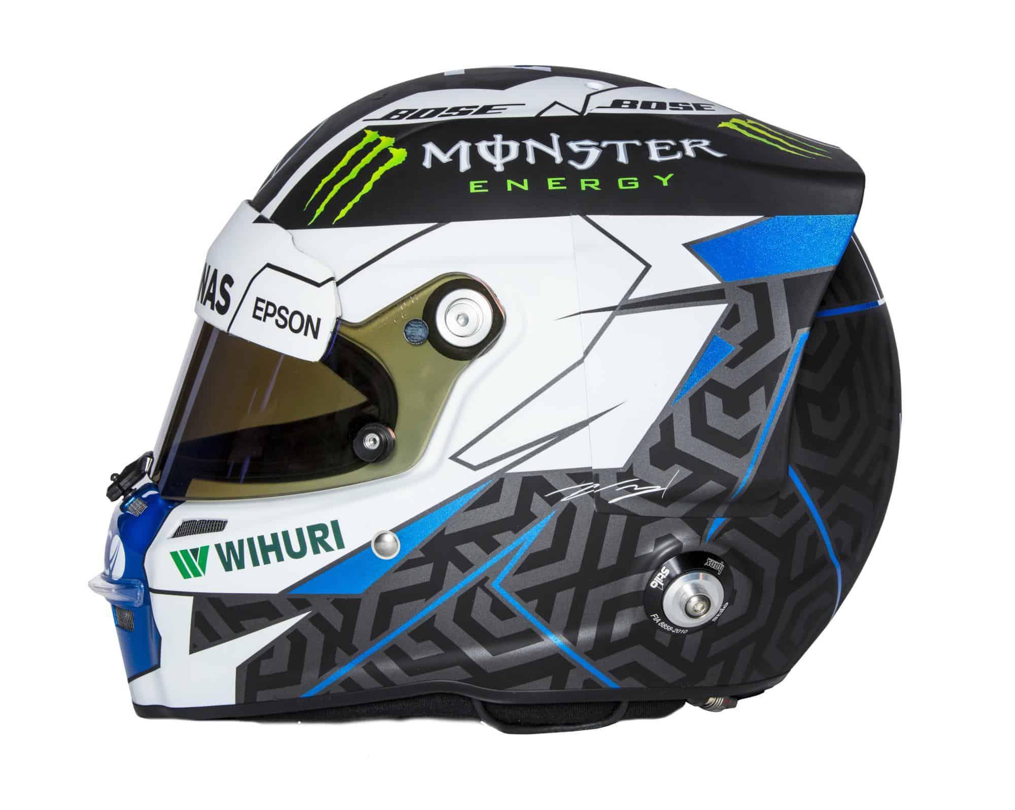 2018 Driver Helmets - Valtteri Bottas