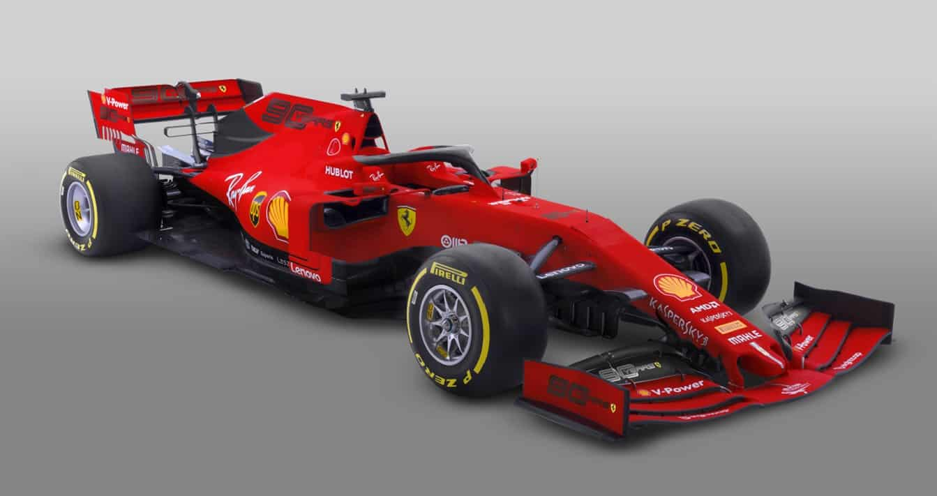 2019 Ferrari SF90 90 Years Melbourne Australian GP livery no Mission Winnow Photo Ferrari