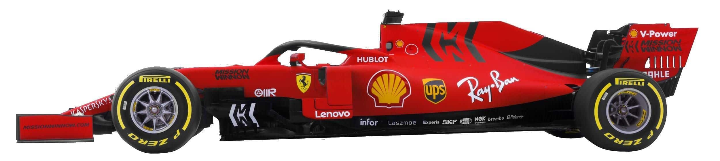 2019 Ferrari SF90 studio photo left side no background Photo Ferrari Edited by MAXF1net