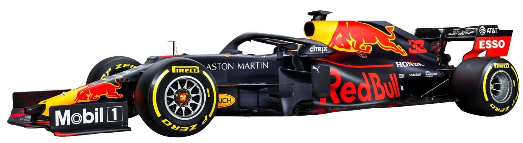2019 Red Bull RB15 launch studio photos racing livery side no background Photo Red Bull Edited by MAXF1net