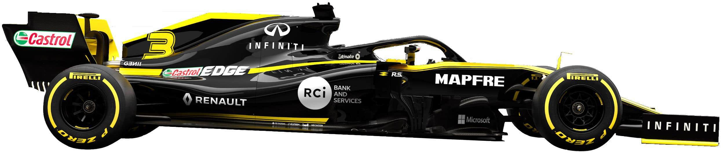 2019 Renault R.S.19 no background