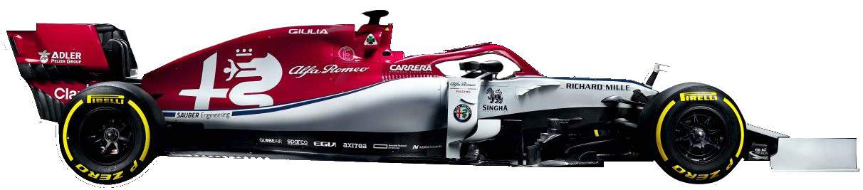 Alfa Romeo C38 F1 2019 no background
