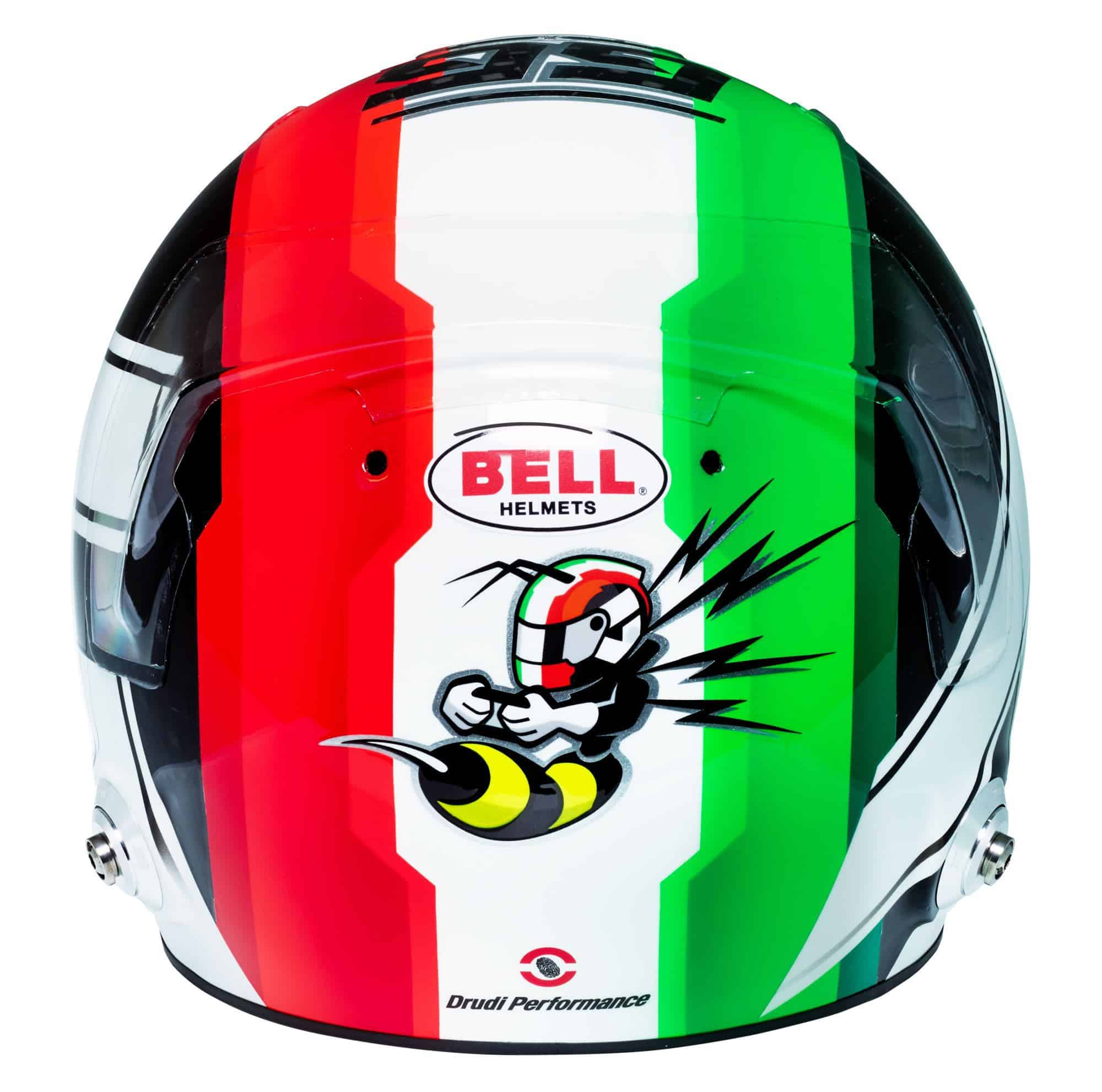 Antonio Giovinazzi 2019 F1 helmet Alfa Romeo Racing rear Photo Alfa Romeo Edited by MAXF1net