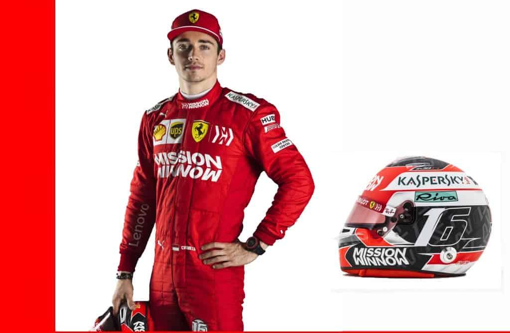 Charles Leclerc-Ferrari-SF90-F1-2019-profile-helmet-full-new