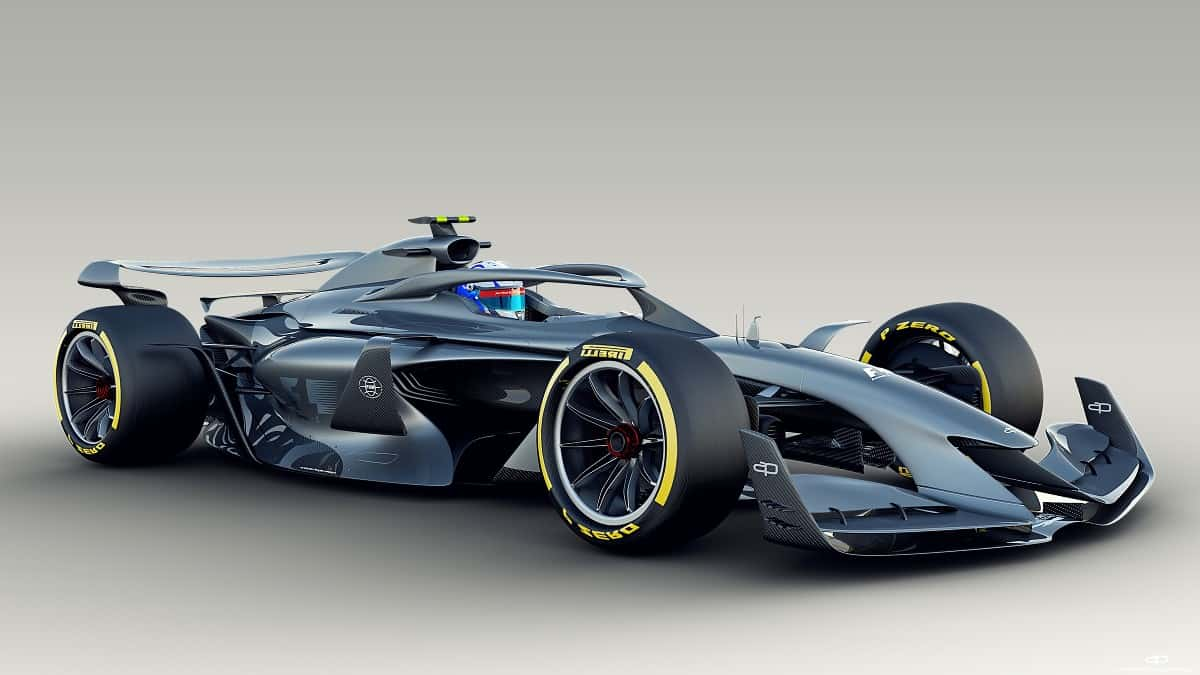 F1 2021 render Photo FIA