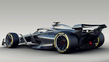 F1 2021 render rear Photo FIA FOM