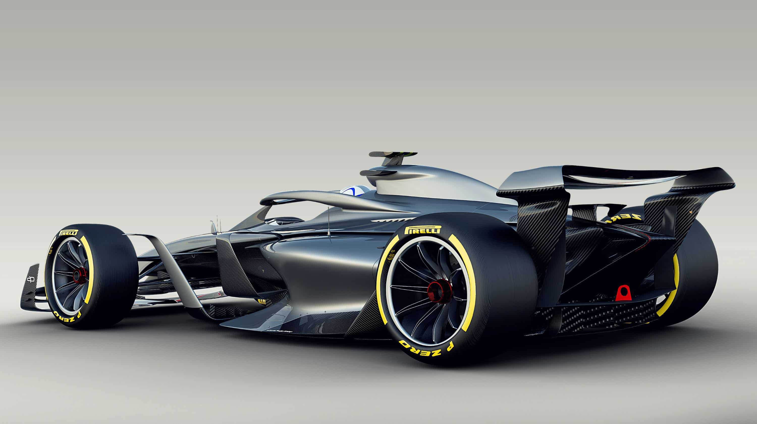 F1 2021 render rear Photo FIA FOM