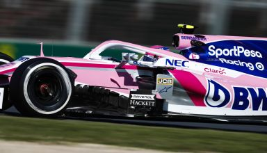 Lance Stroll Racing Point Australian GP F1 2019 FP Photo Racing Point edited by MAXF1net