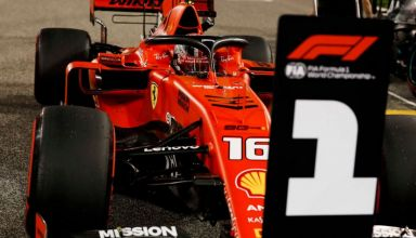 Leclerc Ferrari Bahrain GP F1 2019 Saturday Photo Ferrari F1-com