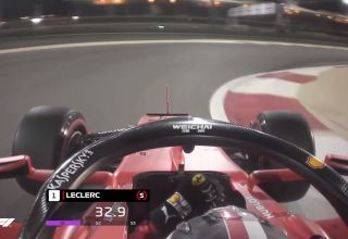 Leclerc Ferrari Bahrain GP F1 2019 qualifying pole position onboard lap Photo F1-com Youtube