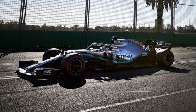Lewis Hamilton Mercedes Australian GP F1 2019 free practice Photo Daimler