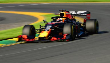Max Verstappen Red Bull RB15 Australian GP F1 2019 final corner Photo Red Bull