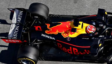 Pierre Gasly Red Bull RB15 Barcelona test F1 2019 pitlane Photo Red Bull