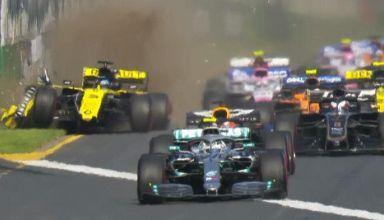 Ricciardo 2019 Australia start