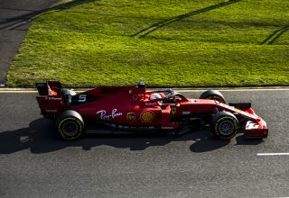 Sebastian Vettel Ferrari SF90 Australian GP F1 2019 side Photo Ferrari