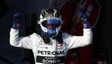 Valtteri Bottas Mercedes Australian GP F1 2019 helmet post race Photo Daimler Edited by MAXF1net