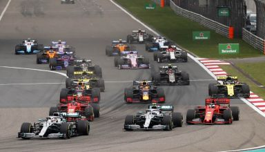 2019 Chinese GP start Photo Daimler