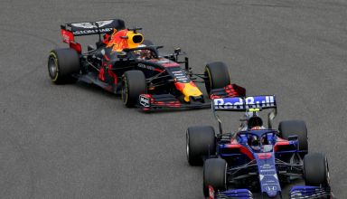 Albon leads Verstappen Chinese GP F1 2019 Photo Red Bull