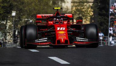 Charles Leclerc Ferrari SF90 Azerbaijan GP F1 2019 race Photo Ferrari