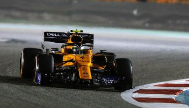 Lando Norris McLaren Renault MCL34 Bahrain GP F1 2019 race Photo McLaren