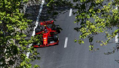Leclerc Ferrari SF90 Azerbaijan GP F1 2019 Photo Ferrari