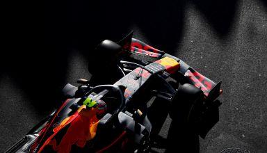 Max Verstappen Red Bull RB15 Honda Azerbaijan GP F1 2019 practice Friday Photo Red Bull