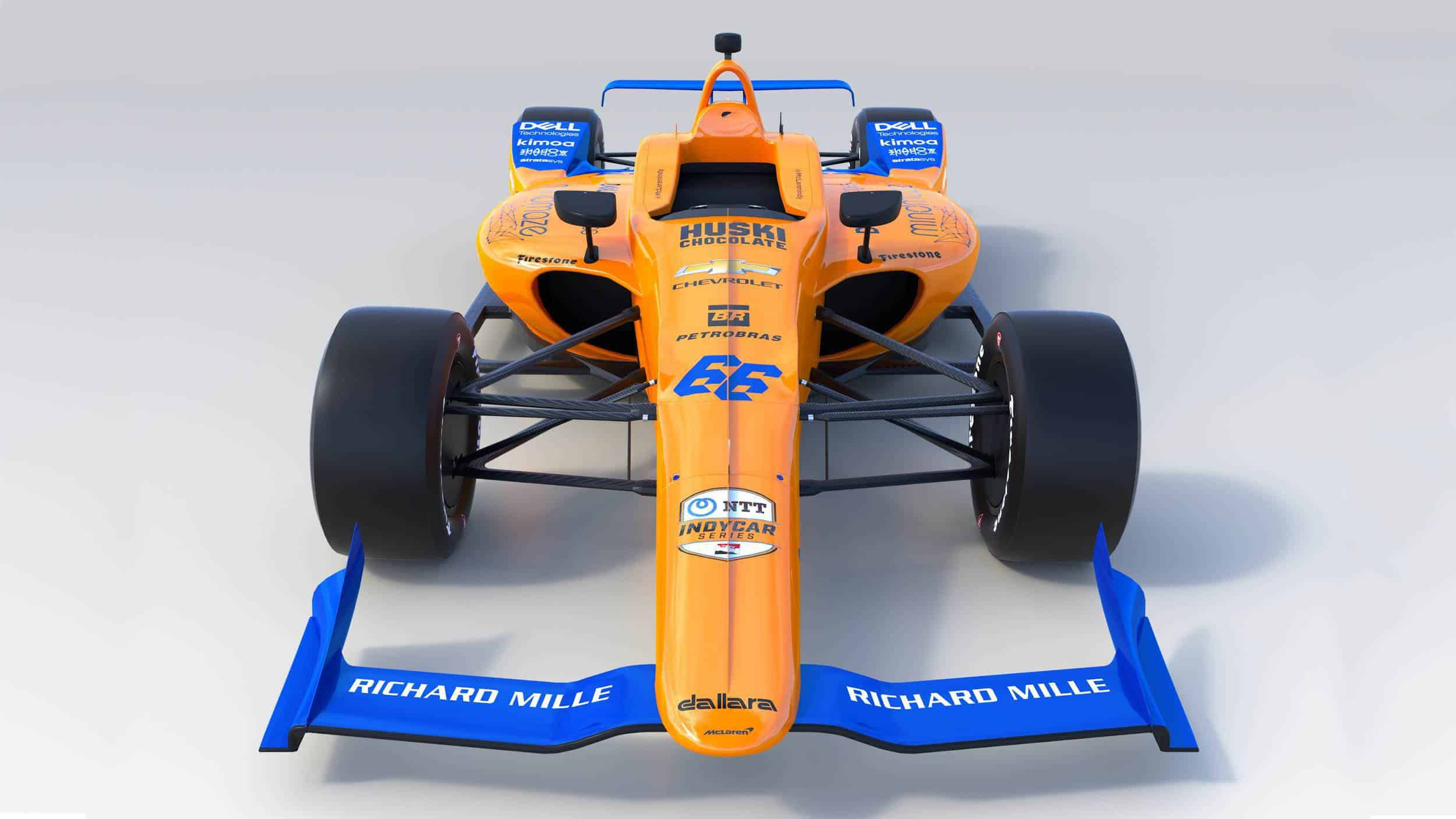 McLaren Alonso 2019 Indy_500_front