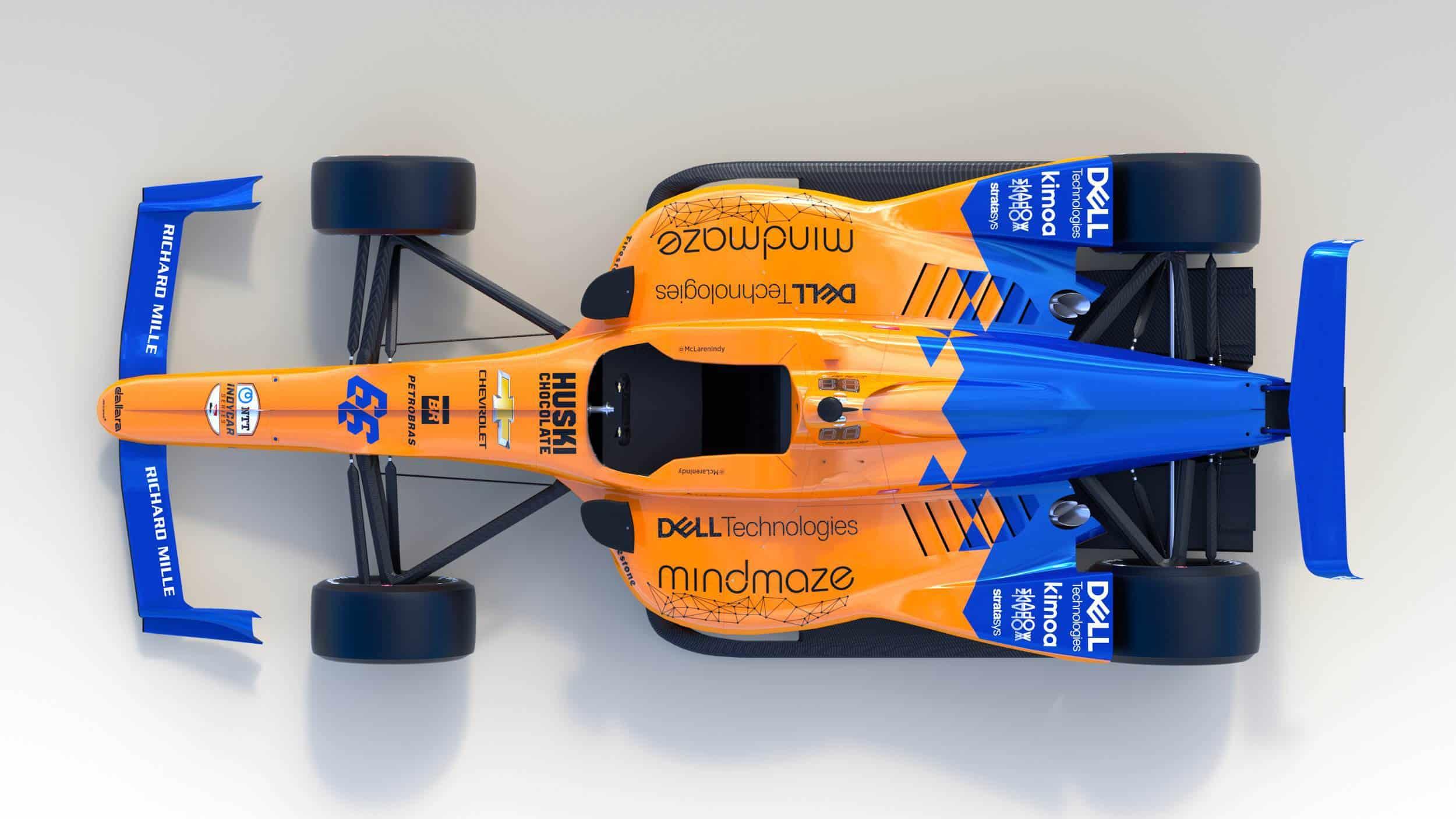 McLaren Alonso 2019 Indy_500_top