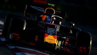 Pierre Gasly Red Bull RB15 Honda Azerbaijan GP F1 2019 practice Friday Photo Red Bull