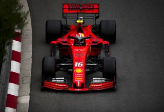 Charles Leclerc Ferrari Monaco GP F1 2019 Loews Photo Ferrari