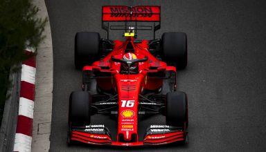 Charles Leclerc Ferrari Monaco GP F1 2019 Loews Photo Ferrari