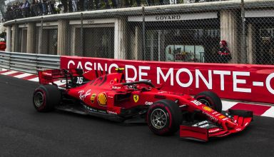 Charles Leclerc Ferrari SF90 Monaco GP F1 2019 Casino Photo Ferrari