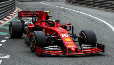 Charles Leclerc Ferrari SF90 Monaco GP F1 2019 Loews hard tyres Photo Ferrari