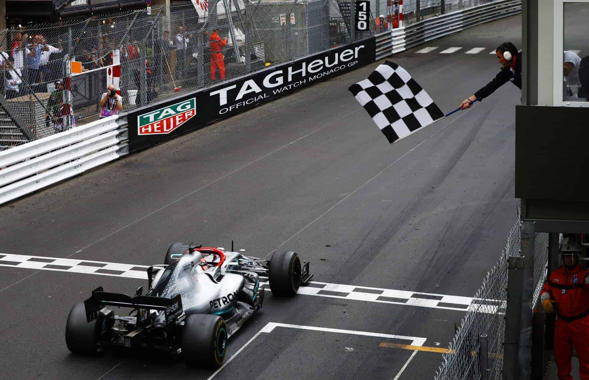 Hamilton wins Monaco GP F1 2019 Photo Daimler