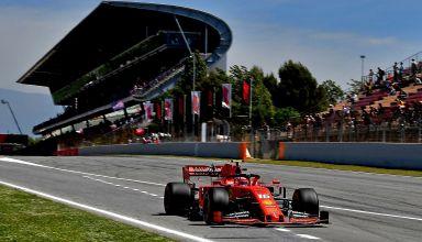 Leclerc-Ferrari-Spanish-GP-F1-2019-main-straight-Photo-Ferrari
