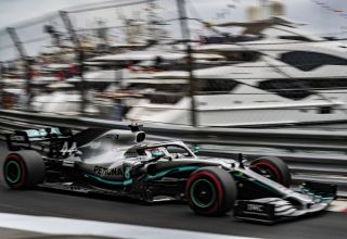 Lewis Hamilton Mercedes F1 W10 Monaco GP F1 2019 soft Photo Daimler
